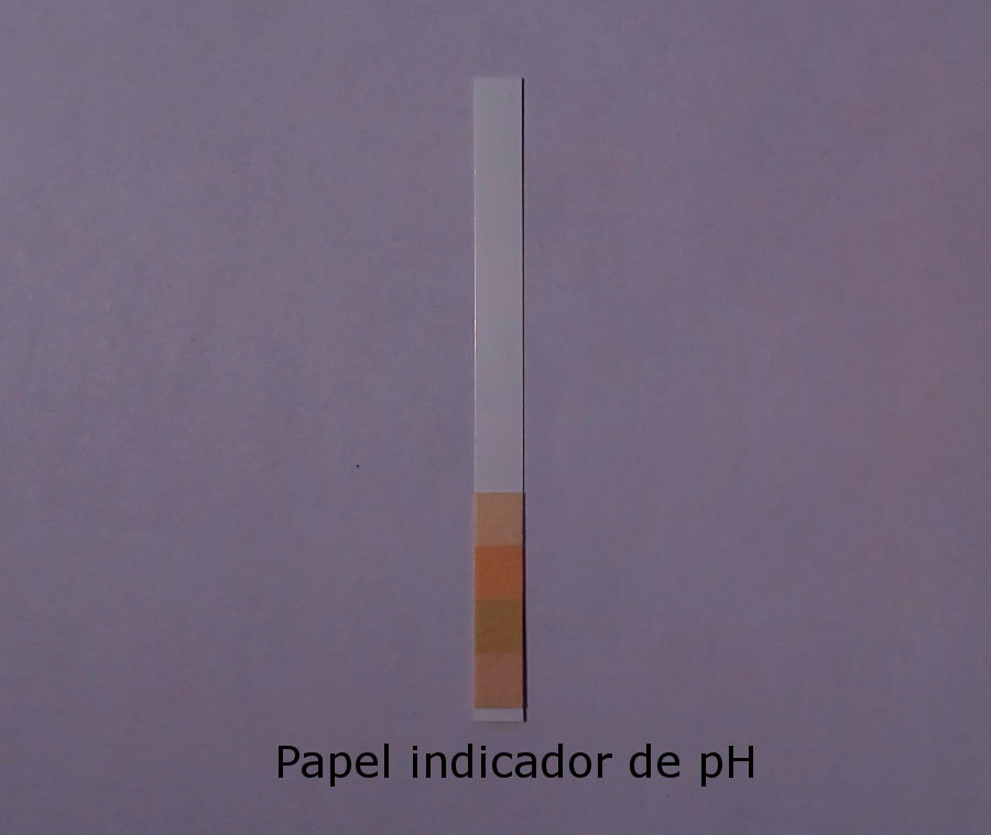 Papel indicador de pH